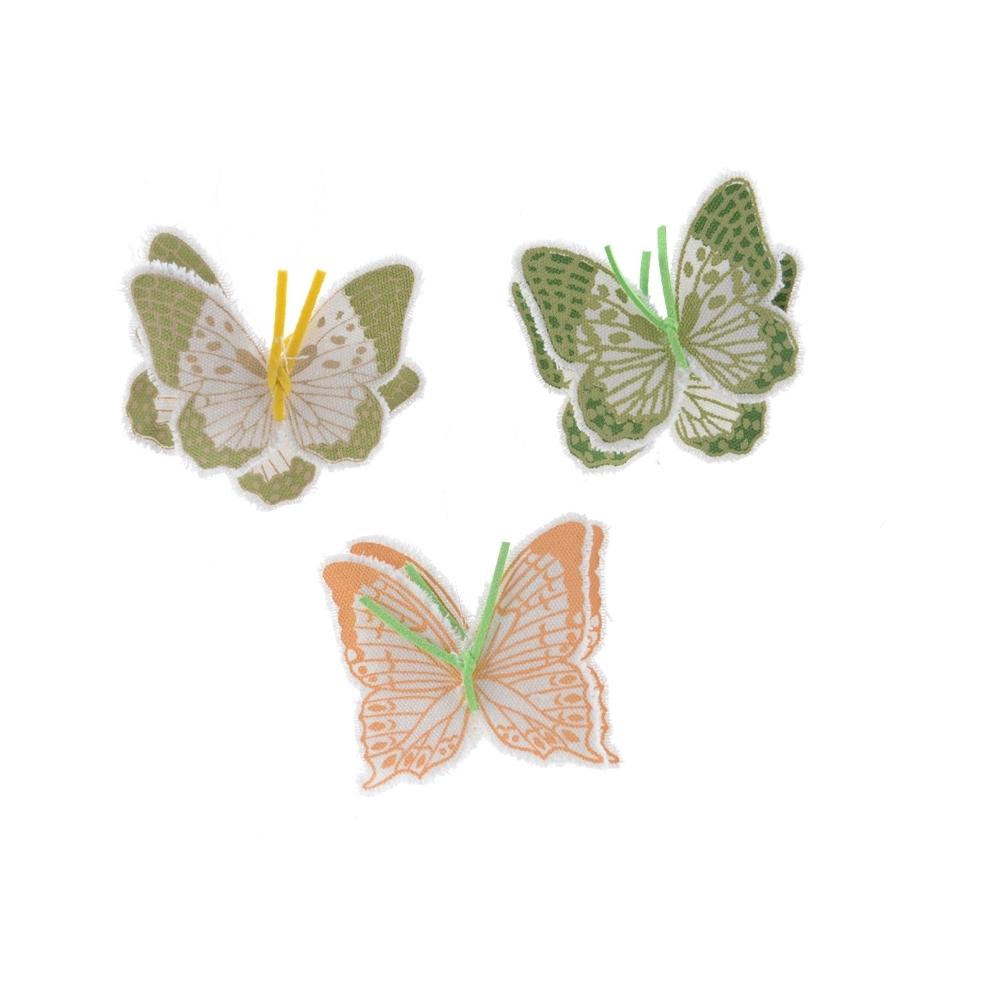 Farfalle in cotone (2 pezzi)