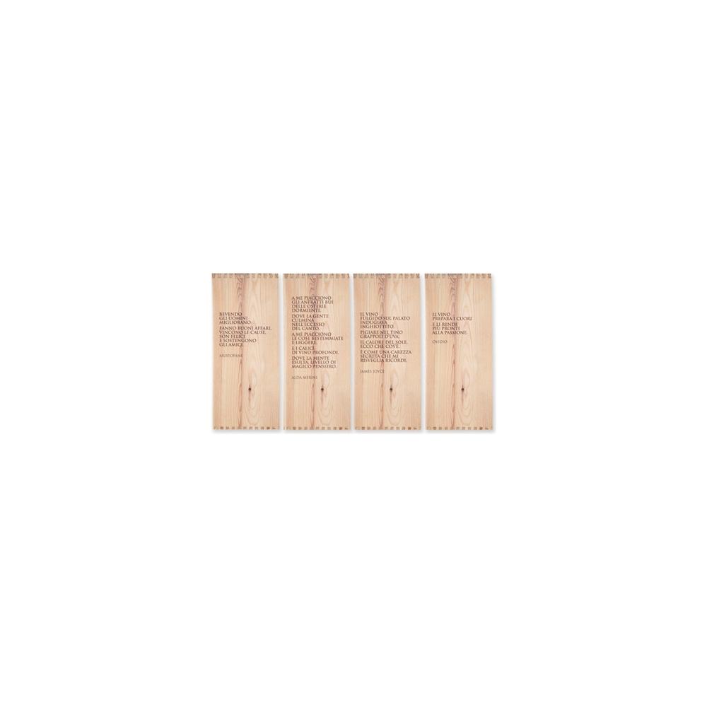 Buste porta posate con tovagliolo enoteca (125 pezzi)