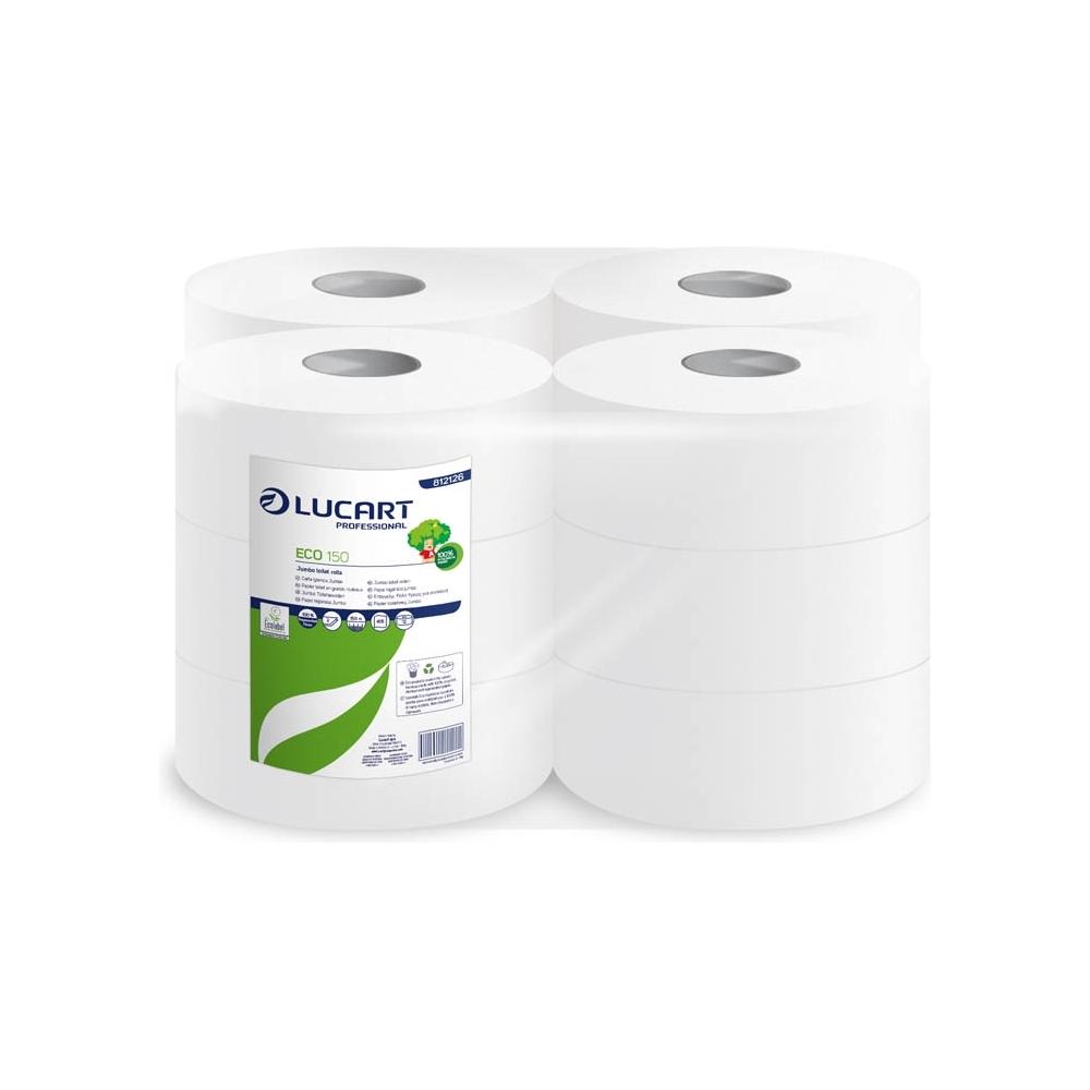 Carta igienica jumbo eco (12 rotoli)