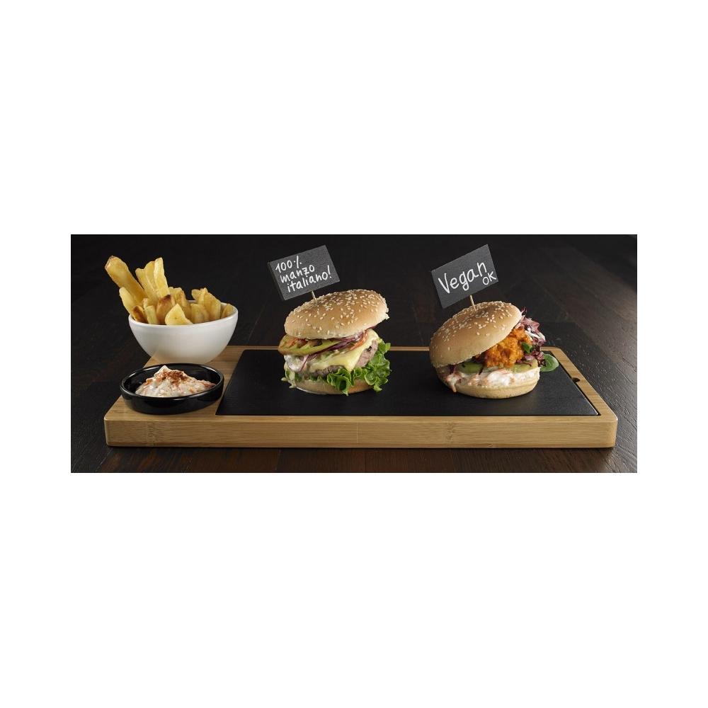 Set vassoio hamburger