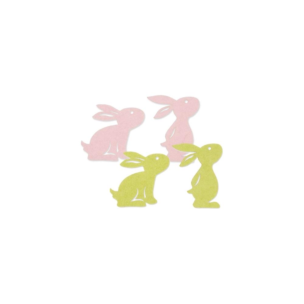 Coniglietto feltro (6 pezzi)