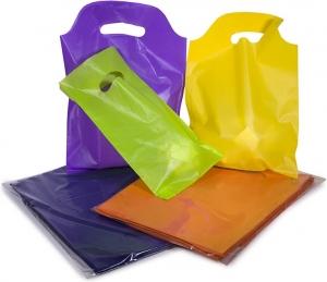 Sacchetti in plastica con manico a fagiolo (70 pezzi)