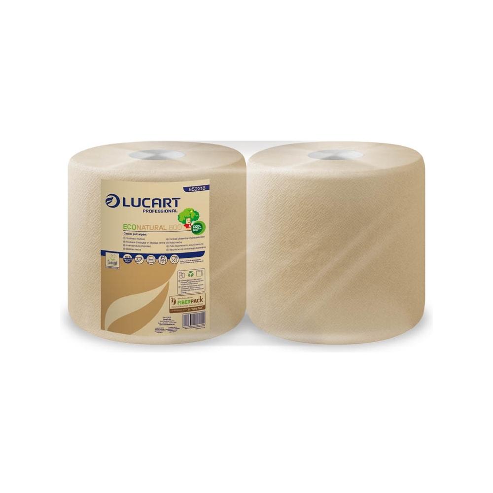 Carta pulitutto eco-natural (2 bobine)