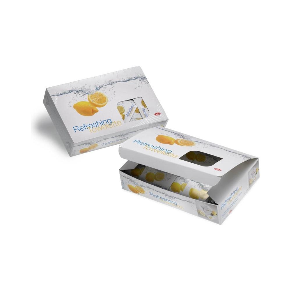 Salviette profumate al limone (100 pezzi)