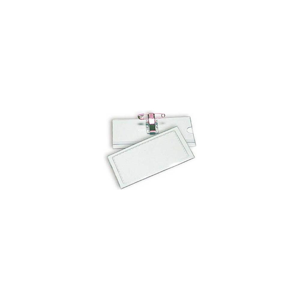 Targhette porta badge (50 pezzi)