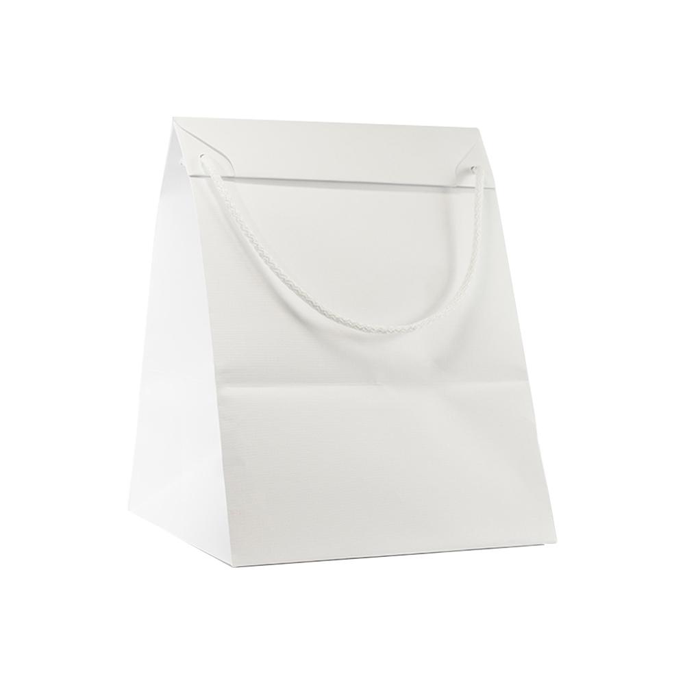 Sacchetto in carta opaca con fondo largo