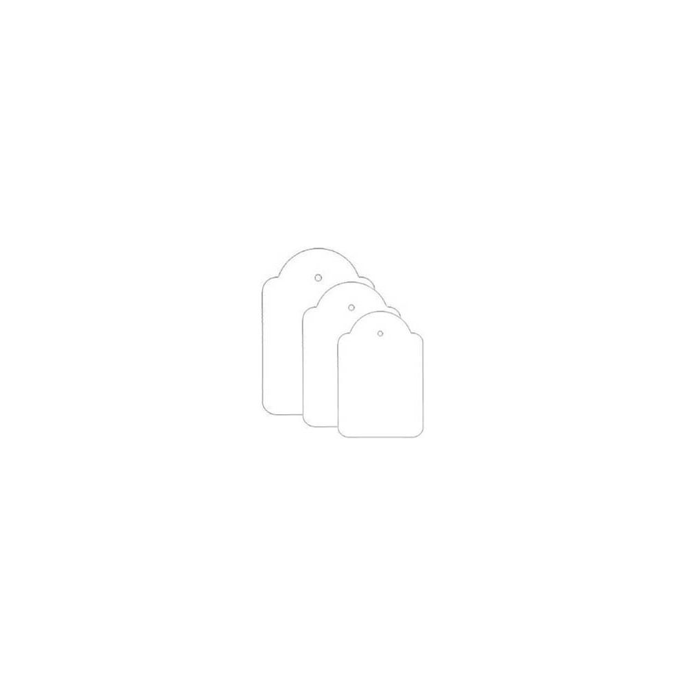 Etichette con filo (100 pezzi)
