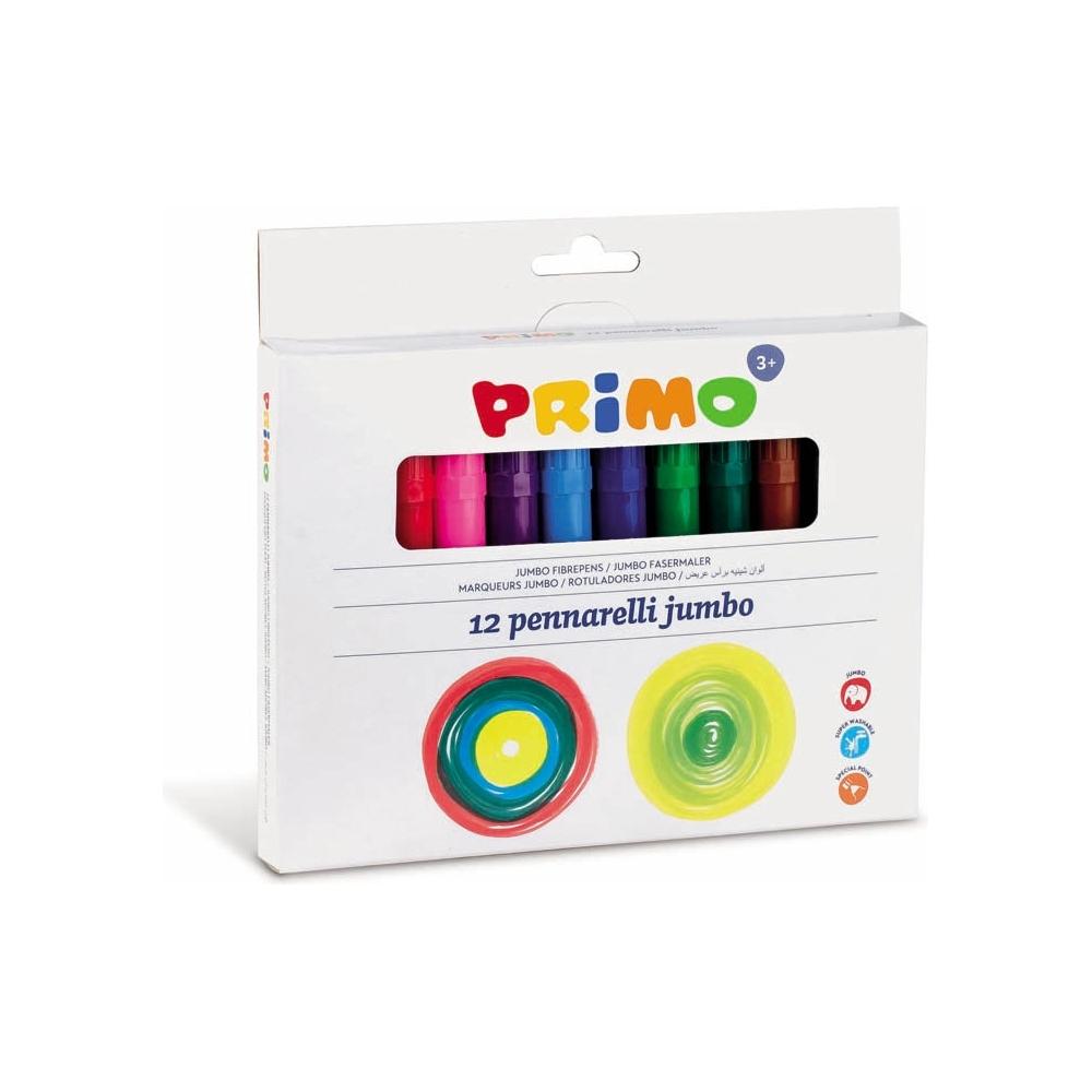 Pennarelli Jumbo colorati Primo confezione da 12 pezzi