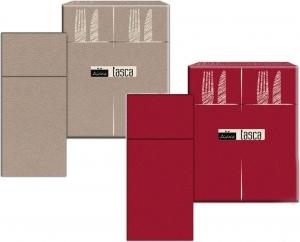 Tovaglioli Colorati Porta Posate in Carta Secco (50 pezzi) Bordeaux o Creta - Vendita online all'ingrosso b2b
