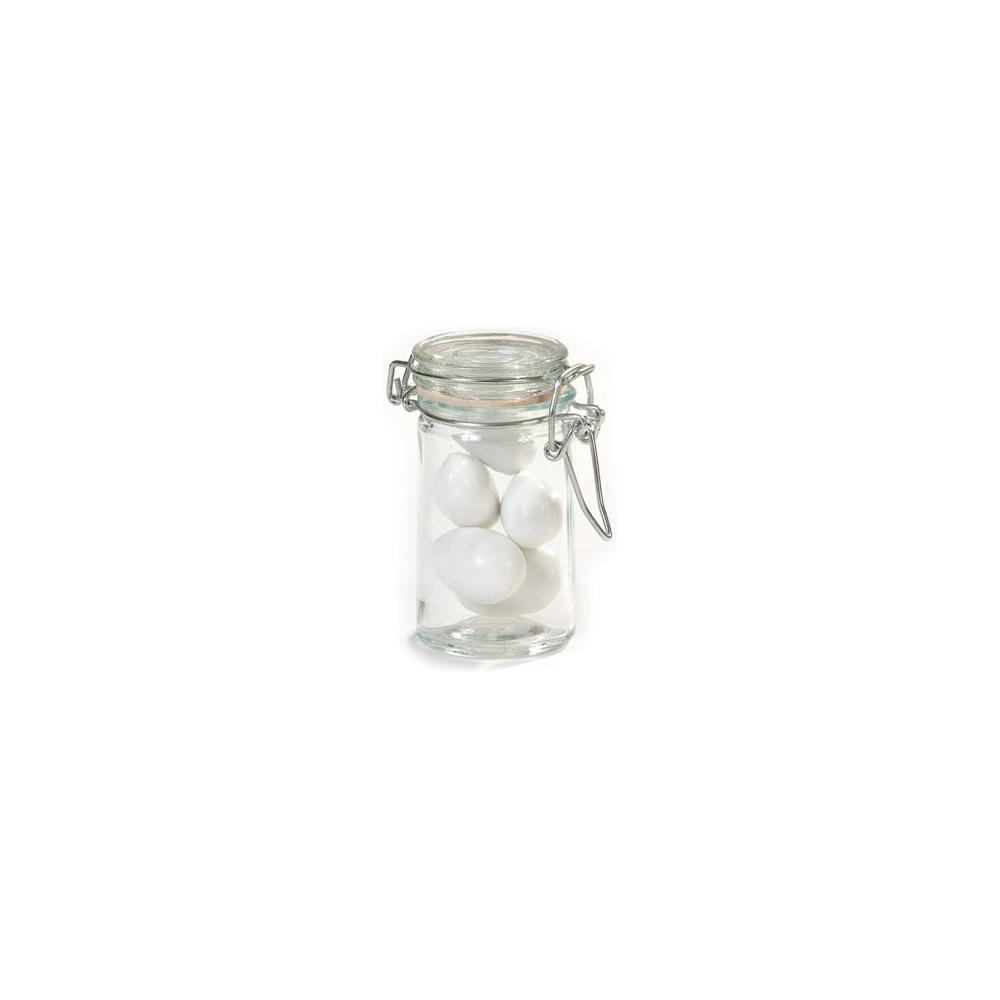 Vasetto vetro tappo ermetico