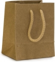 Sacchetti in carta kraft con manico cotone