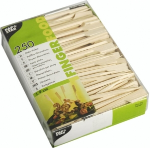 Stecchi Bacchette Golf in Bambù 9 cm (250 pezzi) - Vendita online all'ingrosso b2b