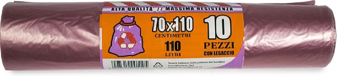 SACCHI NETTEZZA VIOLA (10 PEZZI)