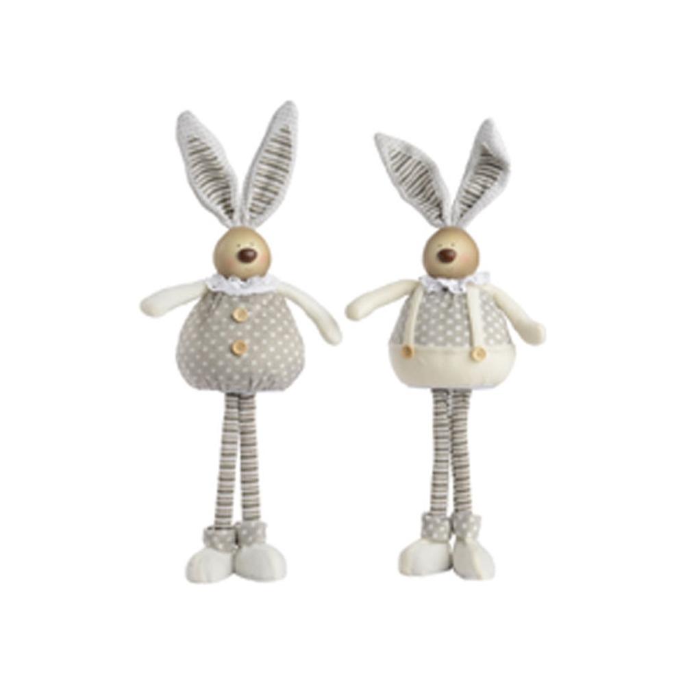Coniglietto in piedi in stoffa