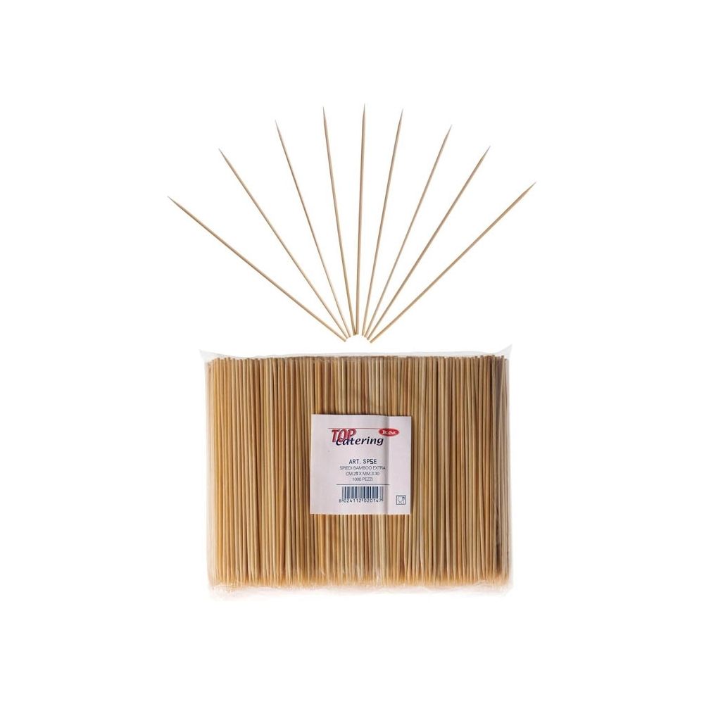 Spiedi in bamboo extra (1000 pezzi)