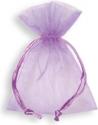 Sacchetto portaconfetti in organza (10 pezz