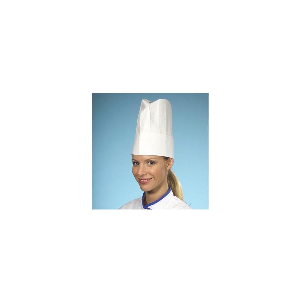 Cappelli da cuoco in carta (10 pezzi)