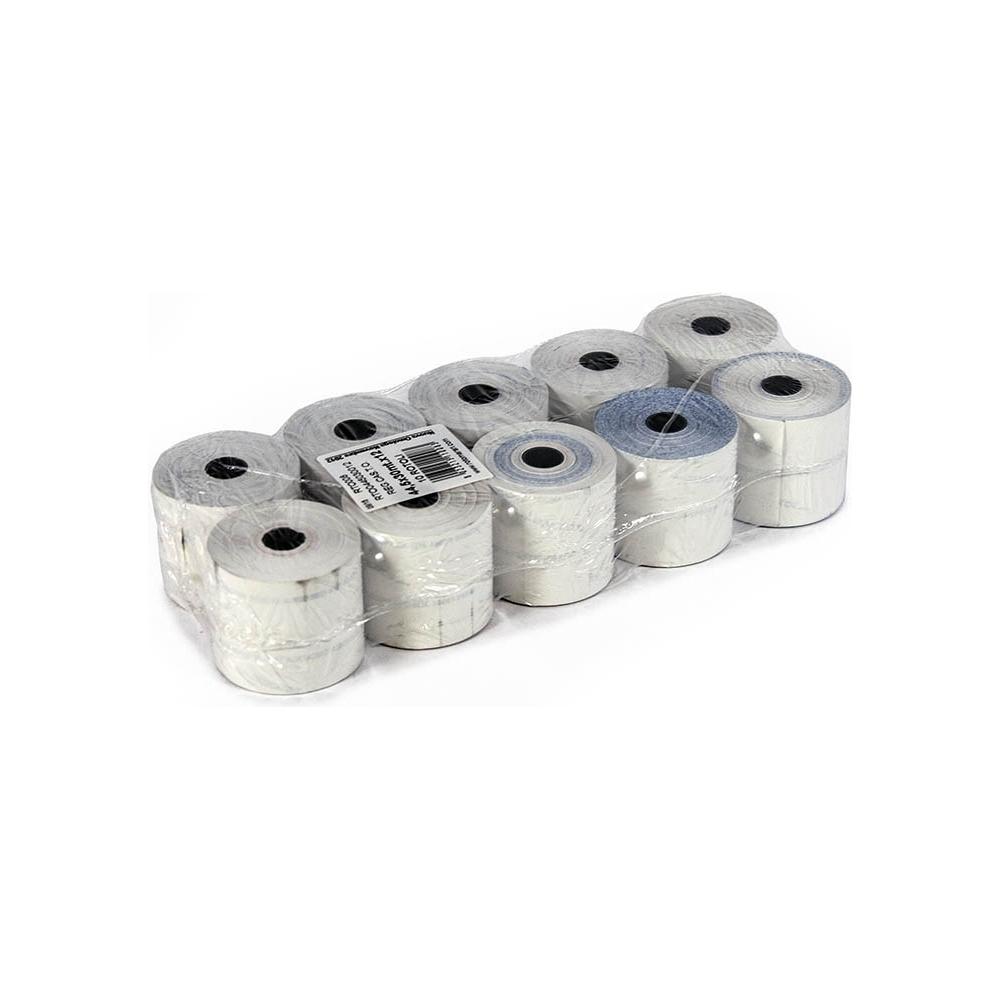 Rotoli per cassa in carta termica - 55gr (10 pezzi)