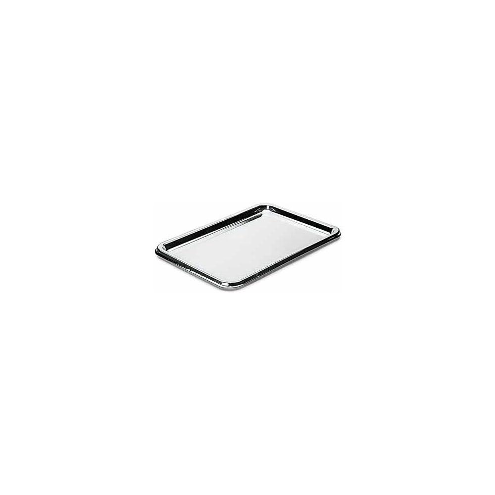 Vassoi in plastica rettangolari (10 pezzi)