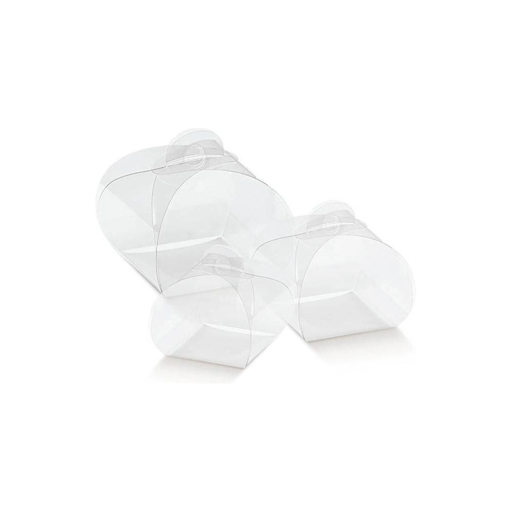 Scatola tortina trasparente