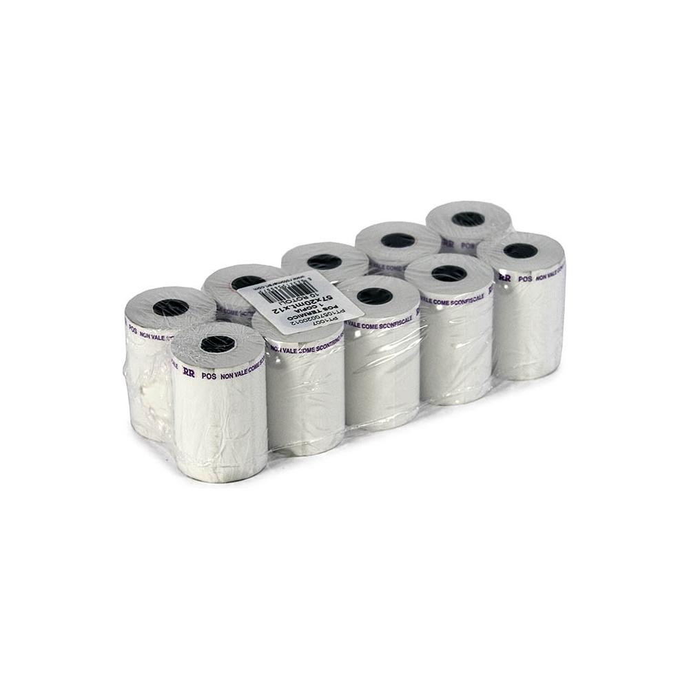 Rotoli per pos 1 copia in carta termica - 55gr (10 pezzi)