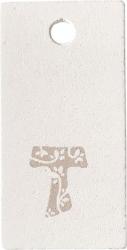 TARGHETTE TAU CON FORO (24 PEZZI)