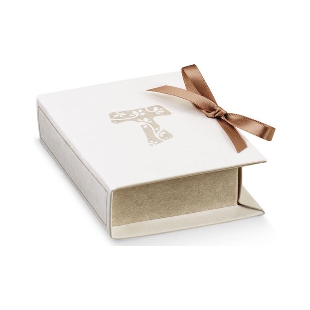 Scatola book con tau (10 pezzi)
