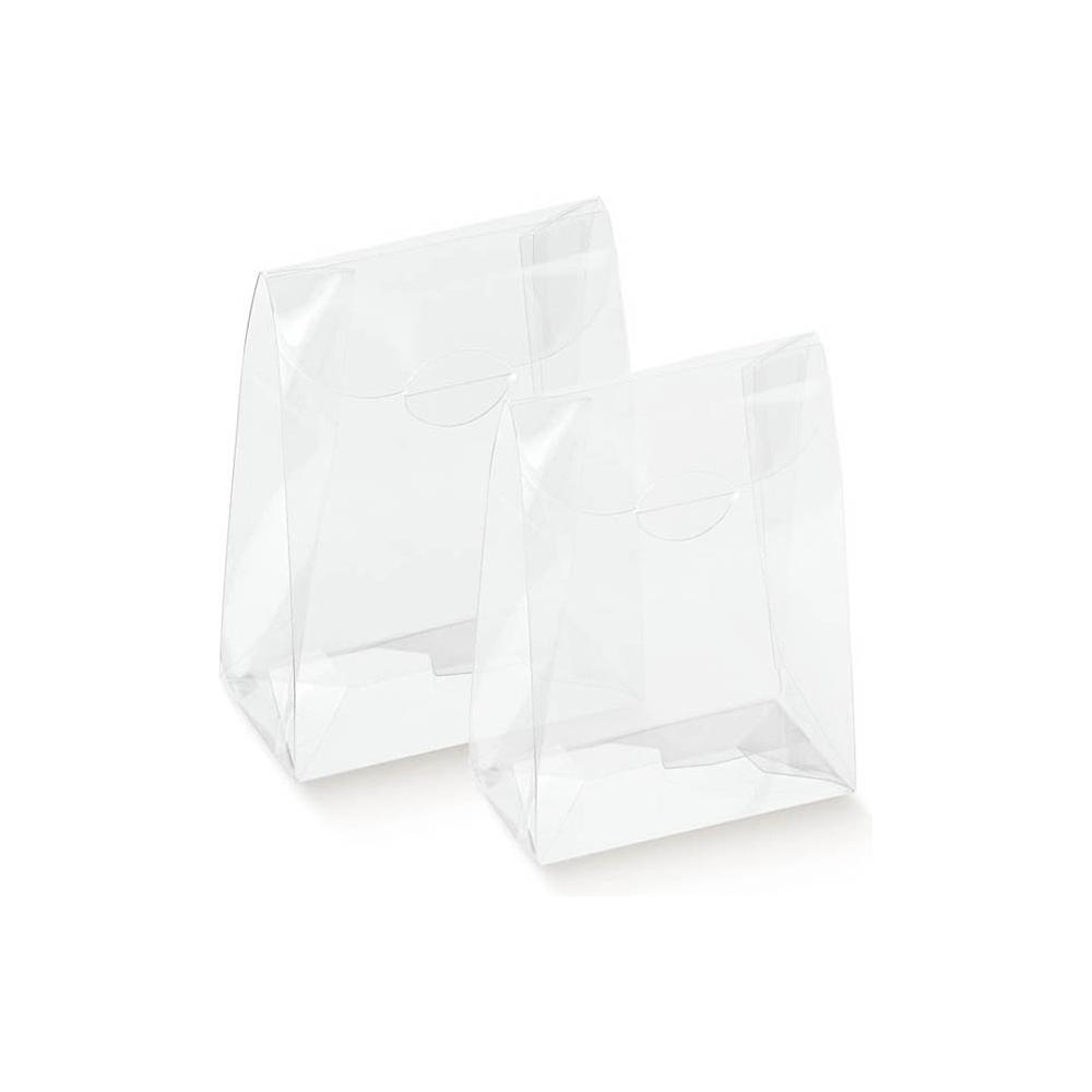 Scatola sacchetto trasparente