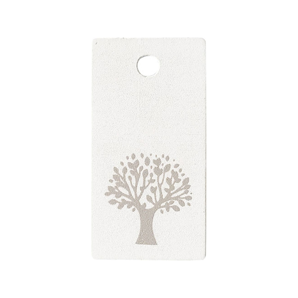 Targhetta albero della vita con foro (24 pezzi)