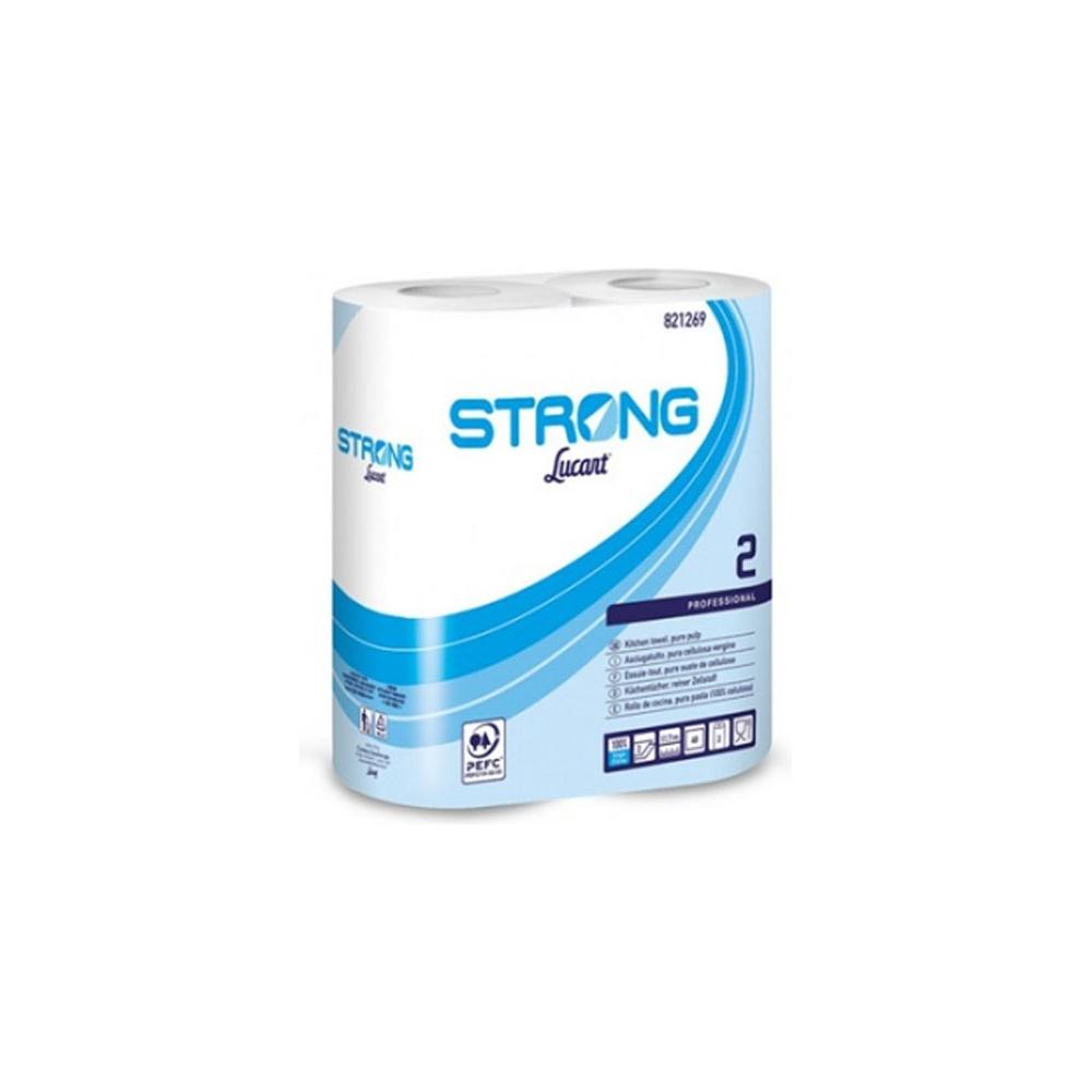 Bobine asciugatutto strong (2 pezzi)