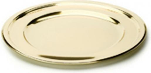 SOTTOPIATTI TONDI GOLD (5 PEZZI)