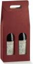 Scatole per due bottiglie con maniglia