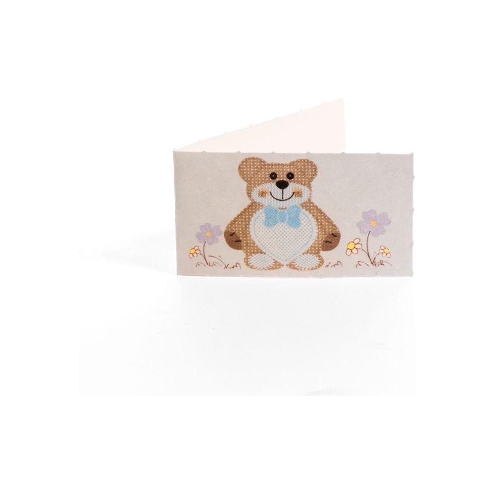 Bigliettino orsetto (200 pezzi)