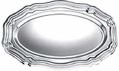 VASSOI IN PLASTICA OVALI (5 PEZZI)