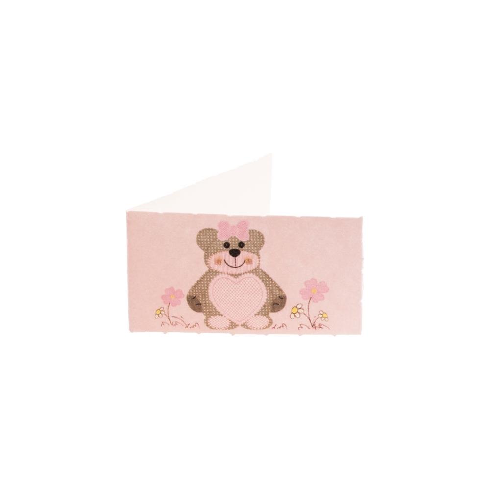 Bigliettino orsetta (200 pezzi)