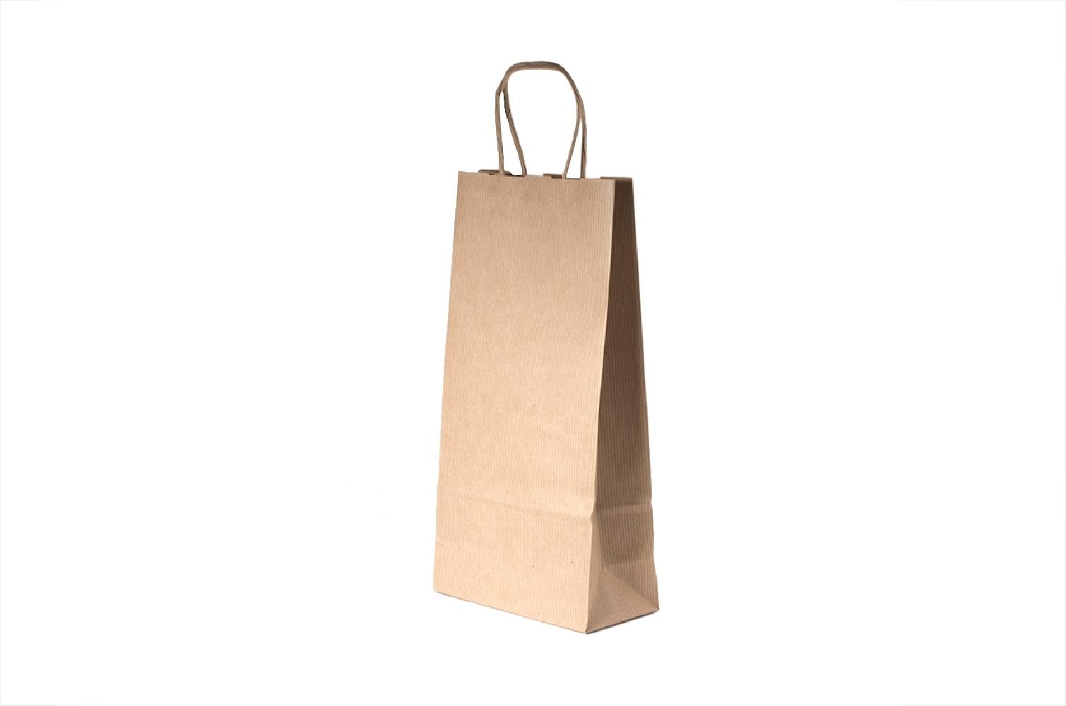 Sacchetti portabottiglia olio in carta