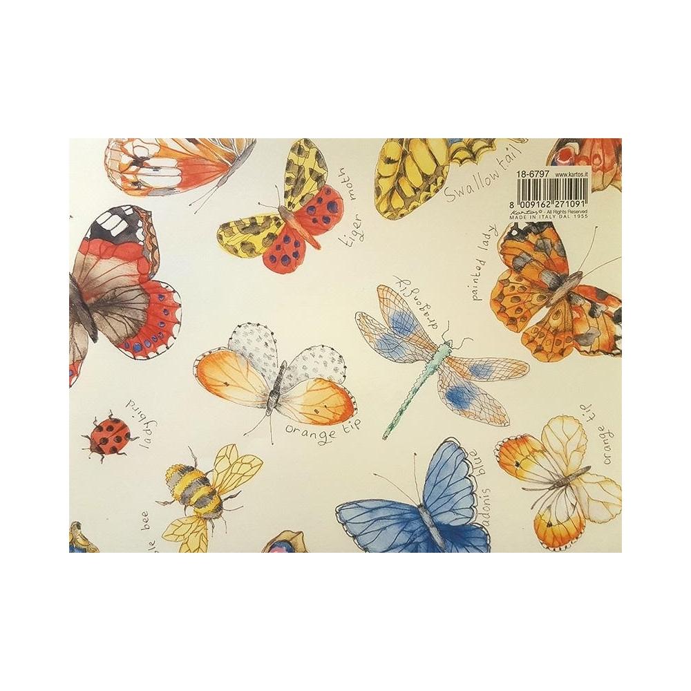 Carta farfalle