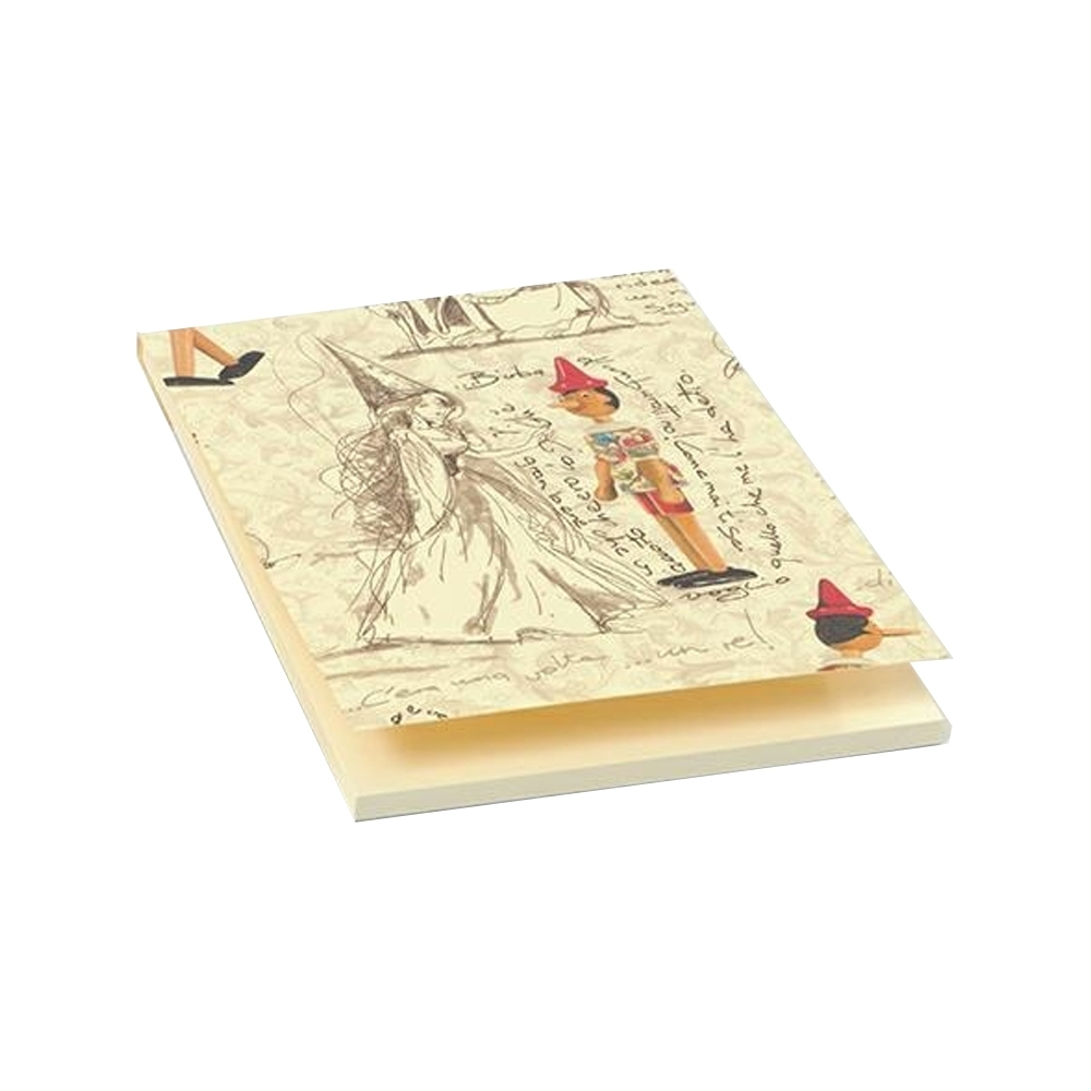 Blocco notepad pinocchio ( 50 fogli)