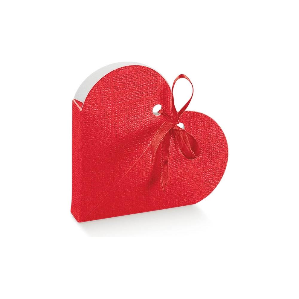 Scatola cuore in cartoncino