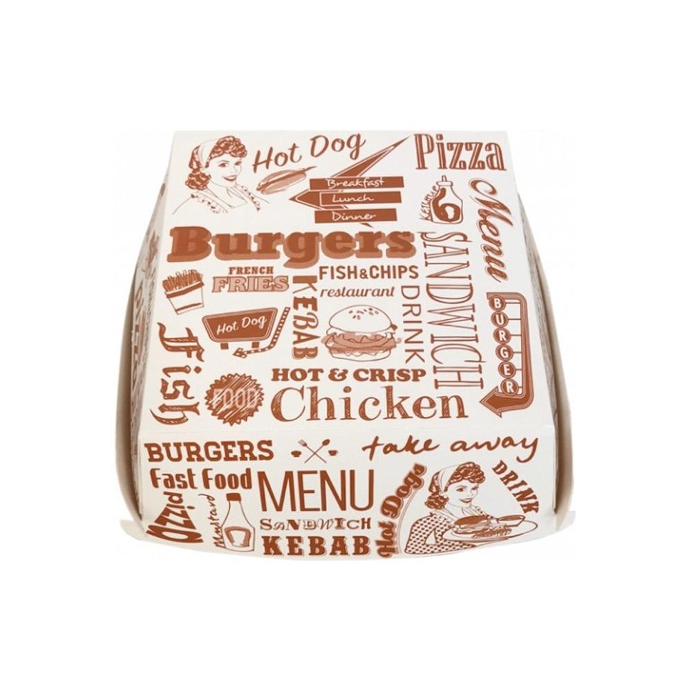 Porta hamburger (50 pezzi)