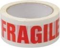 """Nastro adesivo con dicitura """"fragile"""""""