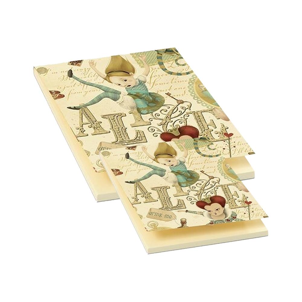 Blocco notepad alice (50 fogli)