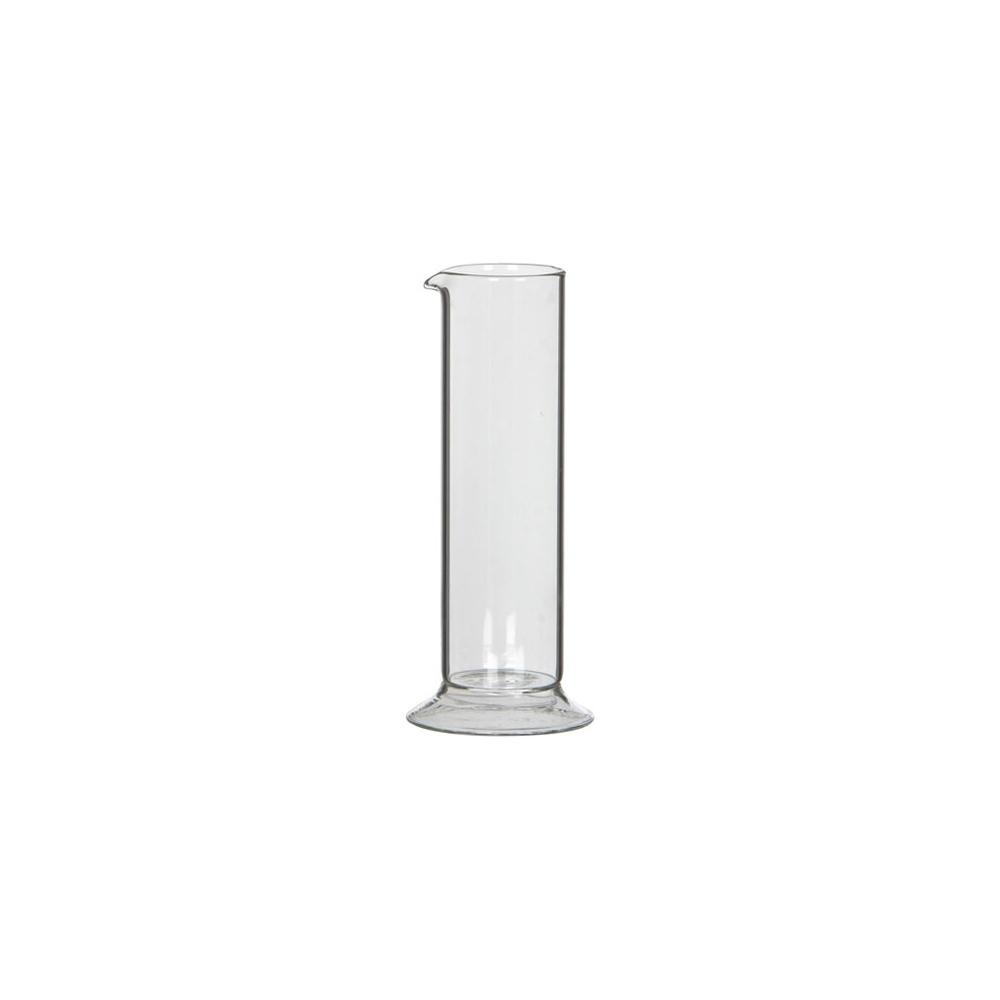 Vaso cilindro in vetro