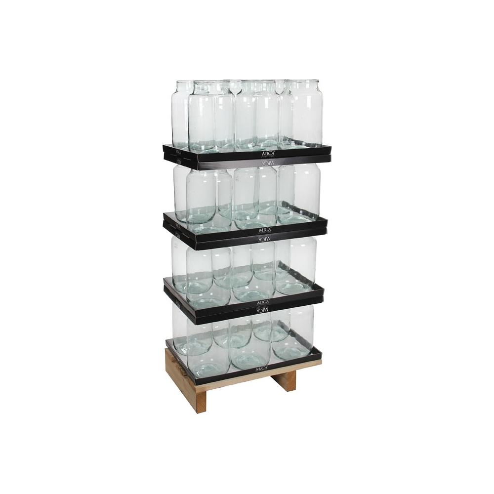 Vaso in vetro vienna (146545)