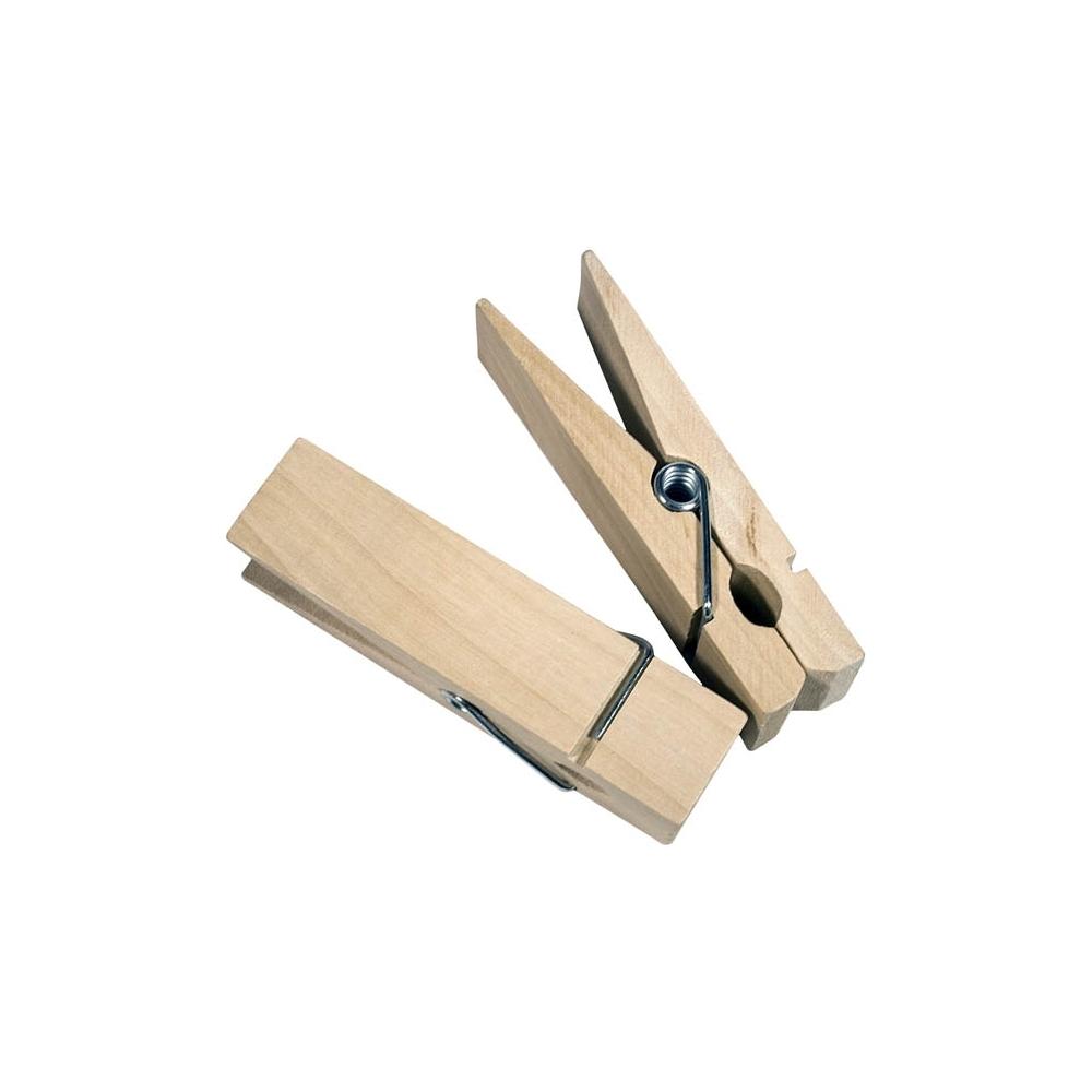 Mollette in legno (2 pezzi)
