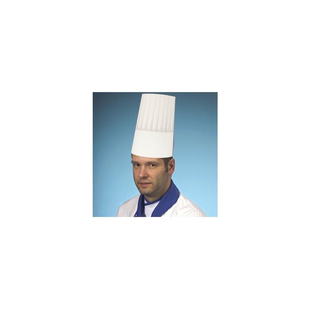 Cappelli da cuoco in carta (25 pezzi)