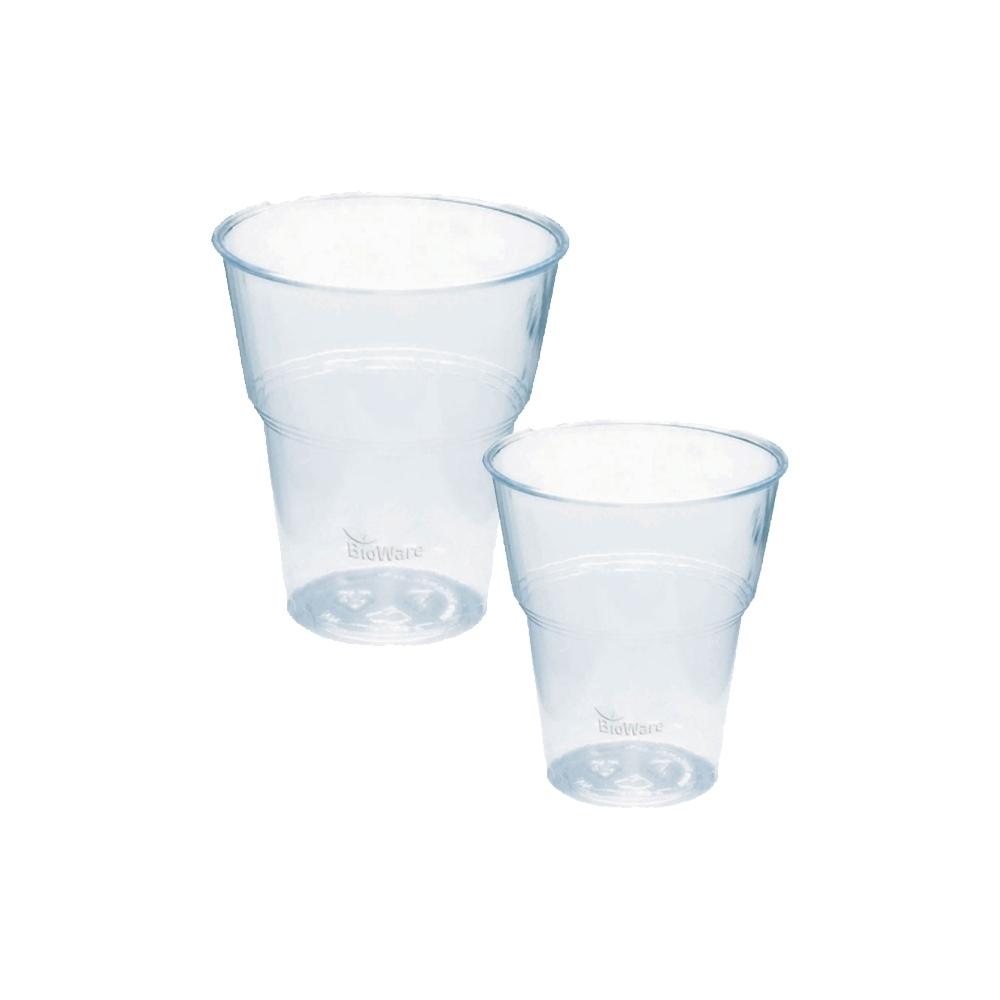 Bicchieri in pla (70 pezzi)