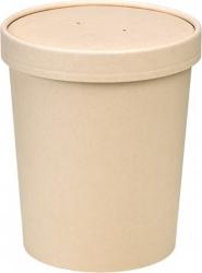 contenitore RICICLABILE per zuppa con coperchio perforato