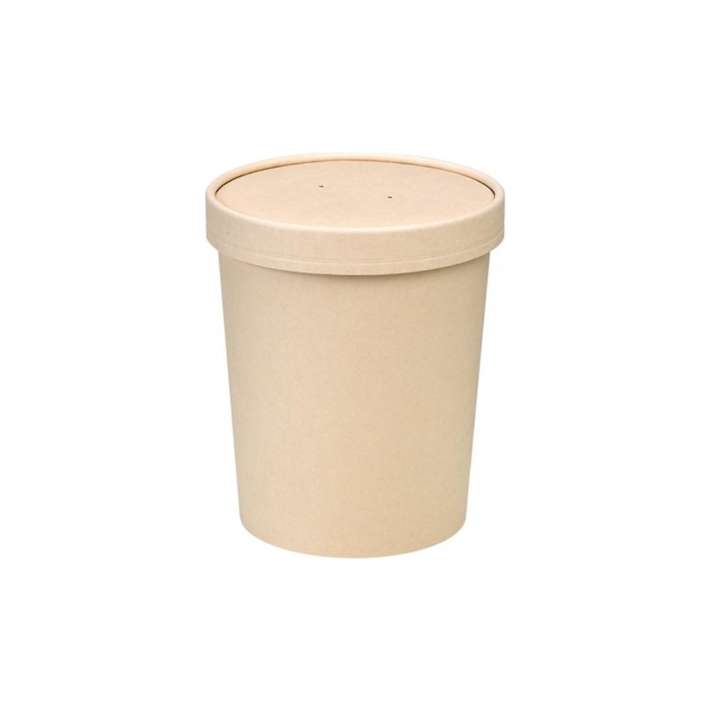 Contenitore zuppa con coperchio (25 pezzi)