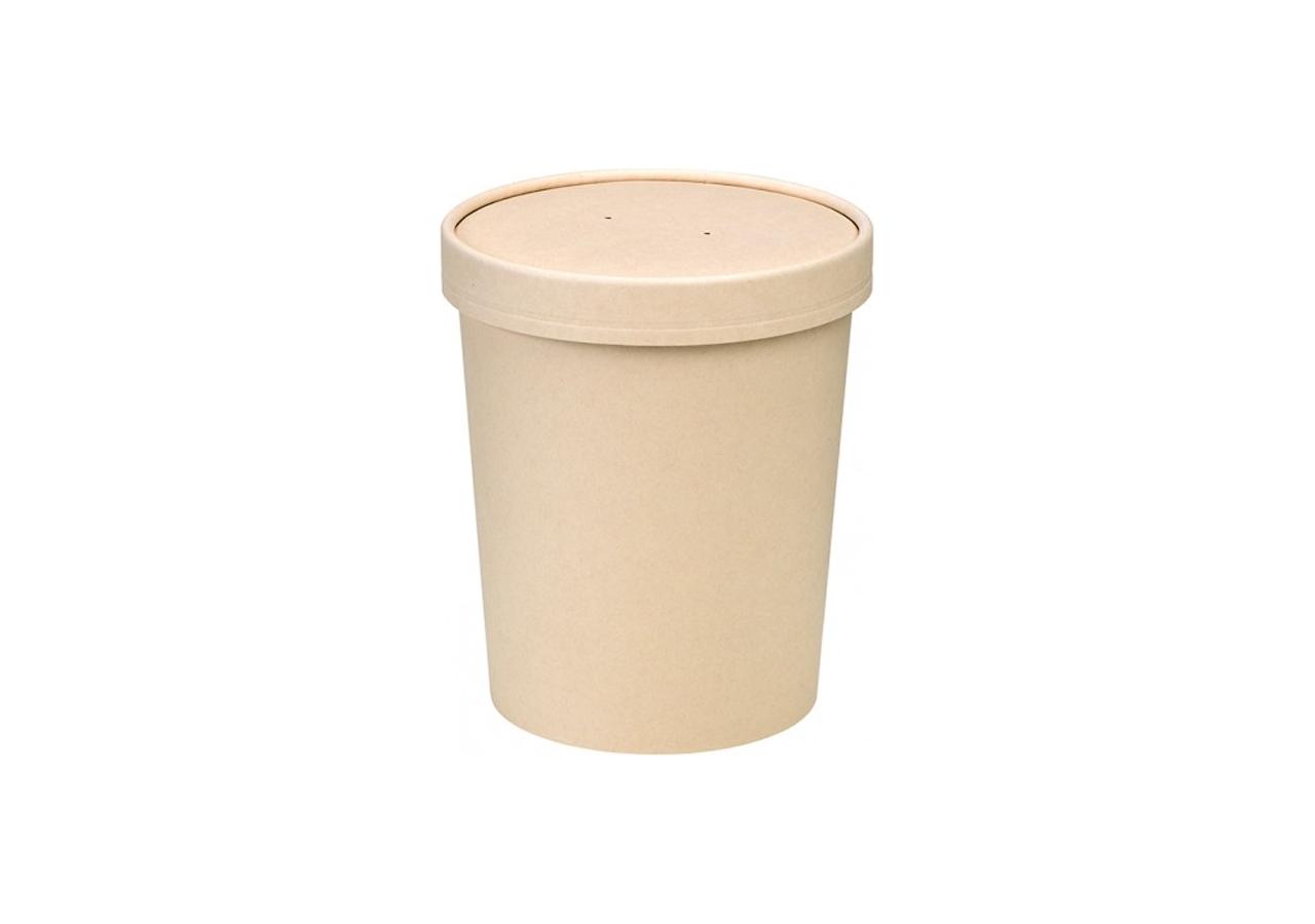 contenitore per zuppa con coperchio per brodi e bevande calde asporto e take away o per salse e condimenti Ingrosso online